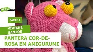 pantera rosa Amigurumi (tutorial schema)/How to crochet pink ... | 180x320