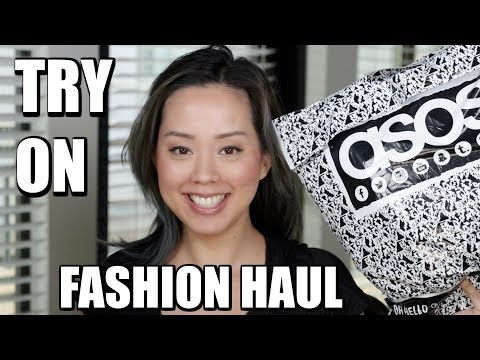 FASHION TRY ON HAUL REVOLVE & ASOS