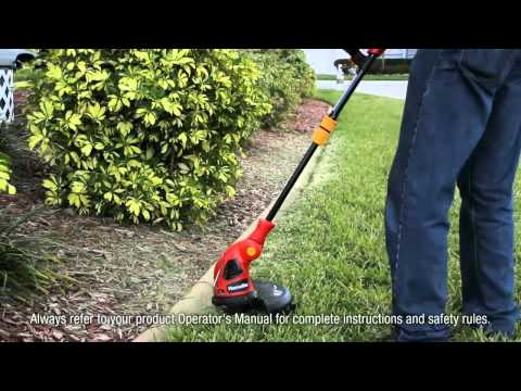 Homelite 14 in Electric Trimmer Edger.mp4