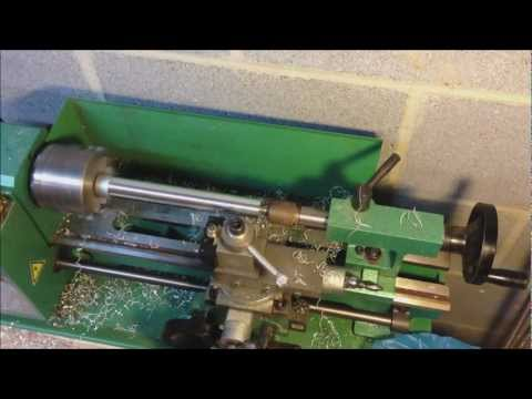 Making a Home Made Silencer Part 2: Lathe Work