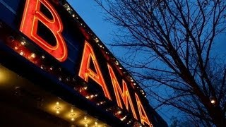 Historic Bama Theatre Marquee Goes Digital