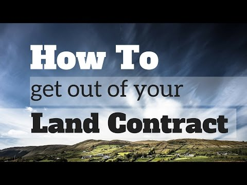 How to Refinance Land Contract