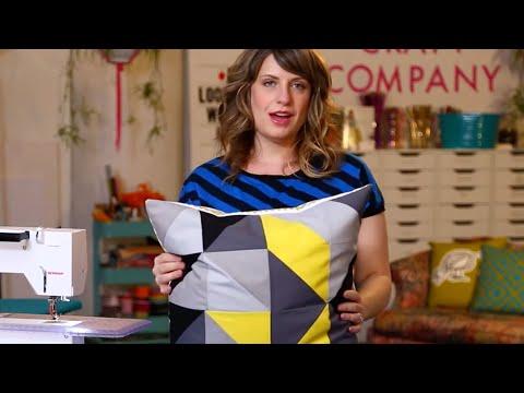 Beginner's Guide to Modern Patchwork Pillows!