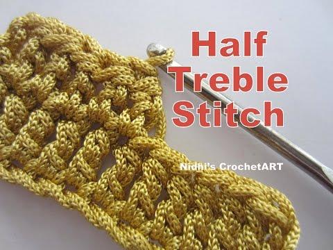 How To Crochet- Half Treble Stitch Tutorial