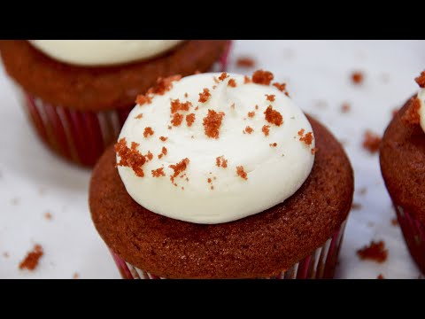 Red Velvet Cupcakes with Cream Cheese Frosting Recipe | COLINary