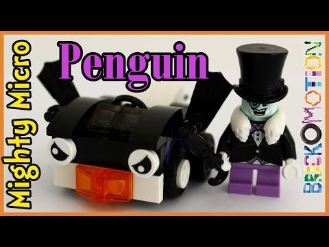 Penguin's Penguin car - custom LEGO Mighty Micro