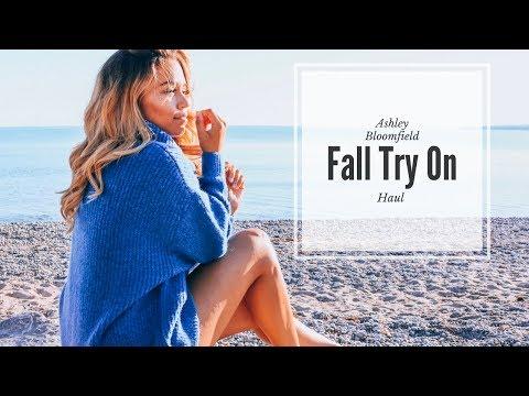 Quick Fall Try On Haul | Fashion Nova, Zara, Levi's, Dynamite Clothing | Ashley Bloomfield