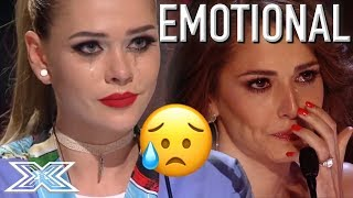 Top EMOTIONAL Auditions that made the Judges Cry | X Factor Global