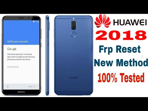 Huawei 2018 Android 7.1/8.0 Frp Unlock   Bypass Google Account  100% New Method