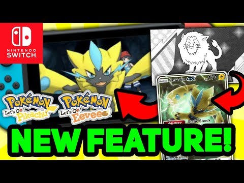 New Accessory For Pokémon Let's Go Pikachu & Eevee PATENTED By Game Freak For Nintendo Switch!