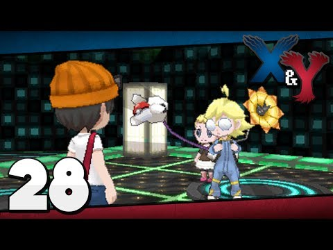 Pokémon X and Y - Episode 28 | Lumiose Gym Clement!
