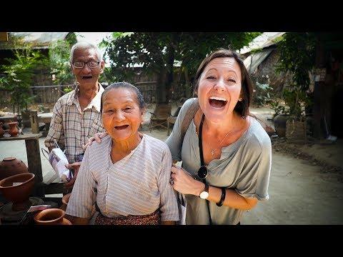 RIVERSIDE VILLAGE LIFE IN MYANMAR!