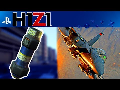 NEW H1Z1 PLAYSTATION 4 UPDATE! EMP and AIRSTRIKE GRENADES, TEAM REVIVE (H1Z1 PS4 NEWS UPDATE)
