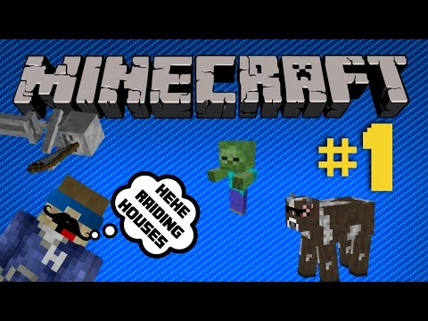 Minecraft Ep.1 | Raiding Bases and Stuff!