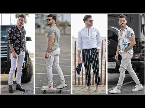 4 EASY SUMMER OUTFITS FOR MEN 2018 | MEN'S FASHION & STYLE INSPIRATION LOOKBOOK | Alex Costa