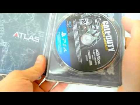 unboxing of my PS4 copy of CALL OF DUTY: ADVANCED WARFARE - ATLAS PRO EDITION!!!