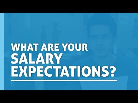 What Are Your Salary Expectations   Interview Preparation