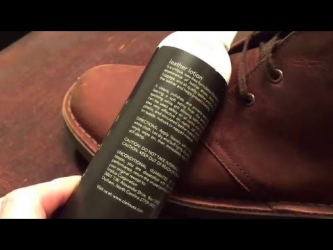 Clarks Boots Leather Lotion Review