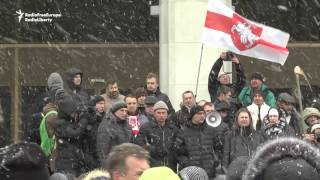 Minsk Market Traders Protest Against New Rules