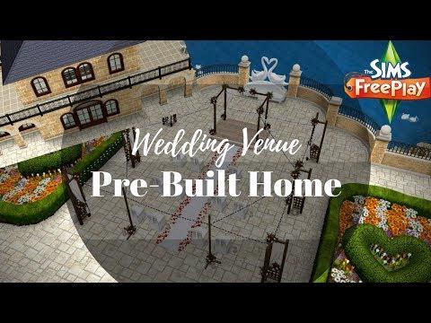 Wedding Venue Tour ( PreBuilt Template  ) | Sims FreePlay