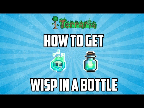 Terraria ios 1.2.4 | How to Get the Wisp in a Bottle! (Dungeon Farm) Working 2017