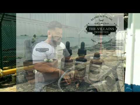 The Villains Production Beard Oil & Beard Bar