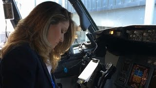 All-female flight crew inspires new generation to aim high