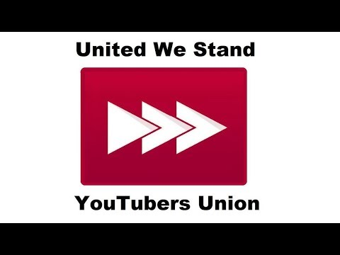Creators, Users... To Arms! Join the YouTubers Union. -JoergSprave