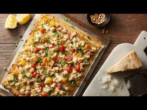 Pesto Chicken Pizza   Pillsbury's Best™ Pizza Dough