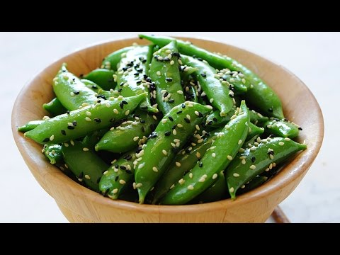 Sugar Snap Peas with Sesame Seeds - Marcel Cocit - Love At First Bite Episode 8