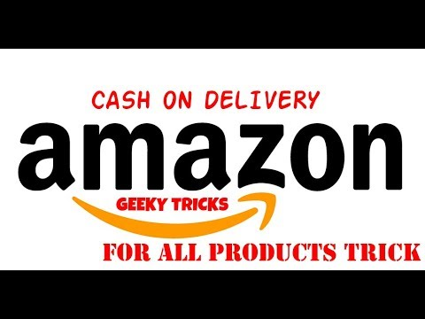CASH ON DELIVERY FOR ALL PRODUCTS-AMAZON INDIA