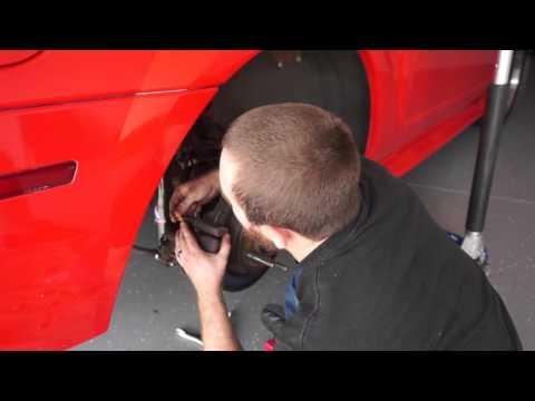 Caliper tool for Ford Mustang rear brakes