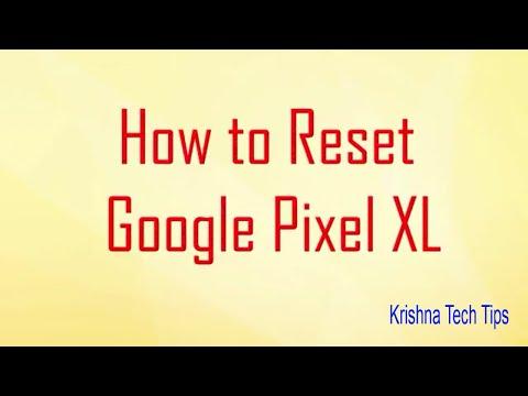 Google Pixel XL Hard Reset - How to Unlock - Forgot Password