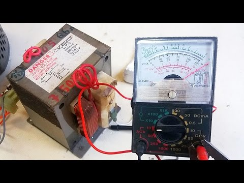 Tiny $2 Multimeter with 1000V Range! Test with Smoke