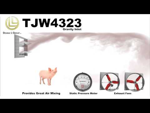 TJW4323 Wall Inlet - Airflow Simulation