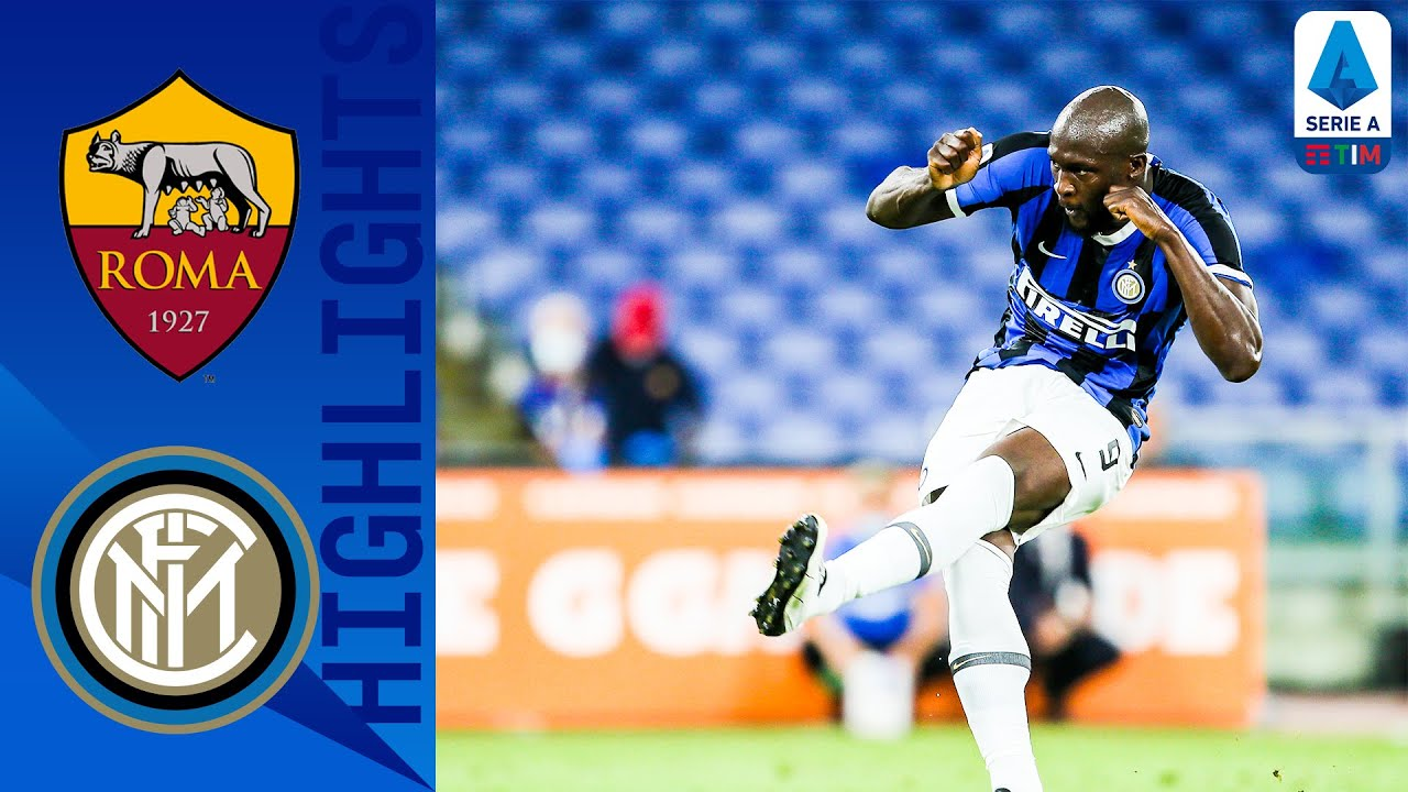 Roma 2-2 Inter   Late Lukaku Penalty Earns Point For Inter!   Serie A TIM