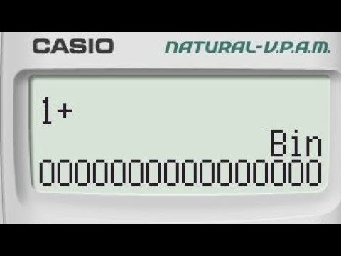 Binary Addition on Casio Calculator