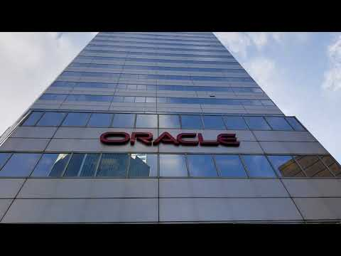 Oracle and International Center. MN, USA.