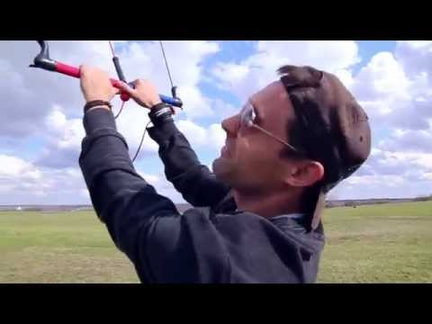 Trainer Kite Flying - New Milford, MI (30-35 mph winds)