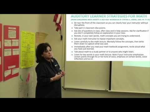 Strategies for Success Part Six: Learning Styles