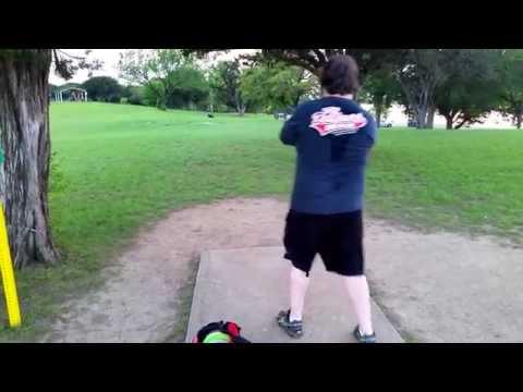 Waco Disc Golf Woodway Park Hole 10