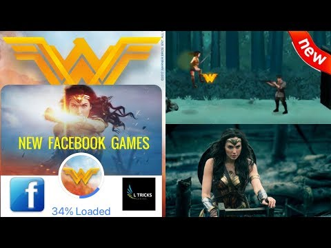 Wonder Woman - New Facebook Games 01