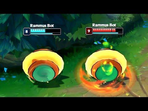 League of BOTS #1 - RAMMUS ROLLING BATTLE!