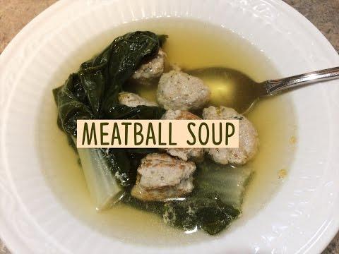 Chinese Pork Meatball Soup (丸子白菜汤)