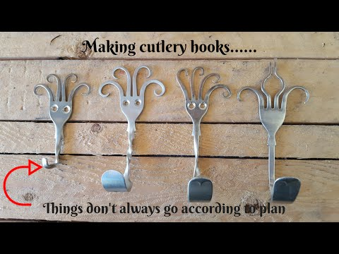 How to make Cutlery hooks