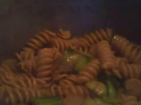 Bok Choy Pasta