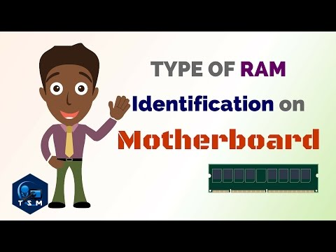 How to | identify Motherboard Supported RAM || Find ram type || Identify different types of RAM