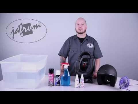 How To Clean a Motorcycle Helmet - Jafrum.com