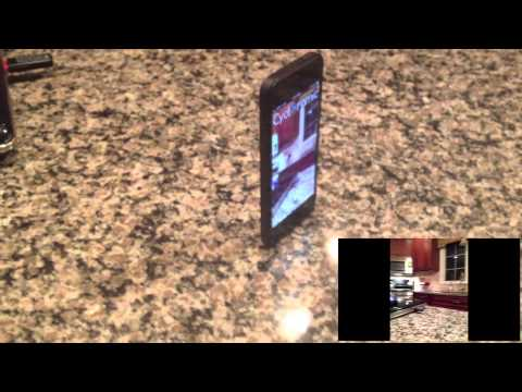 iPhone 5 Spins 360 Degrees By Vibration (Video App)