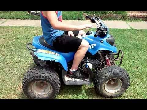 90Cc two stroke QUAD for sale fast not perdy ! Rebuilt
